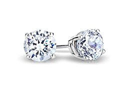 IGI Certified (0.05Ct-0.50Ct) Solitaire 14k Gold Diamond Earring Studs(Color- JKLM, Clarity I2/I3)