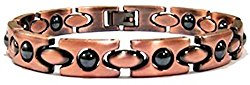 ProExl Copper Link Womens Magnetic Bracelet with Hematite 7.5″ ProExl Box