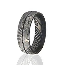 Damascus Steel Ring, Damascus Steel Rings For Men