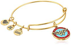 Alex and Ani Wonder Woman Logo Bangle Bracelet