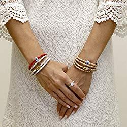 Liza Schwartz Original Triple Wrap Premium Leather Women's Bracelet, More Colors