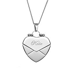 Eve's Addiction Secret Message Envelope Heart Locket