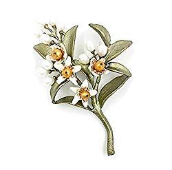 Michael Michaud New Orange Blossom Pin Brooch 5972